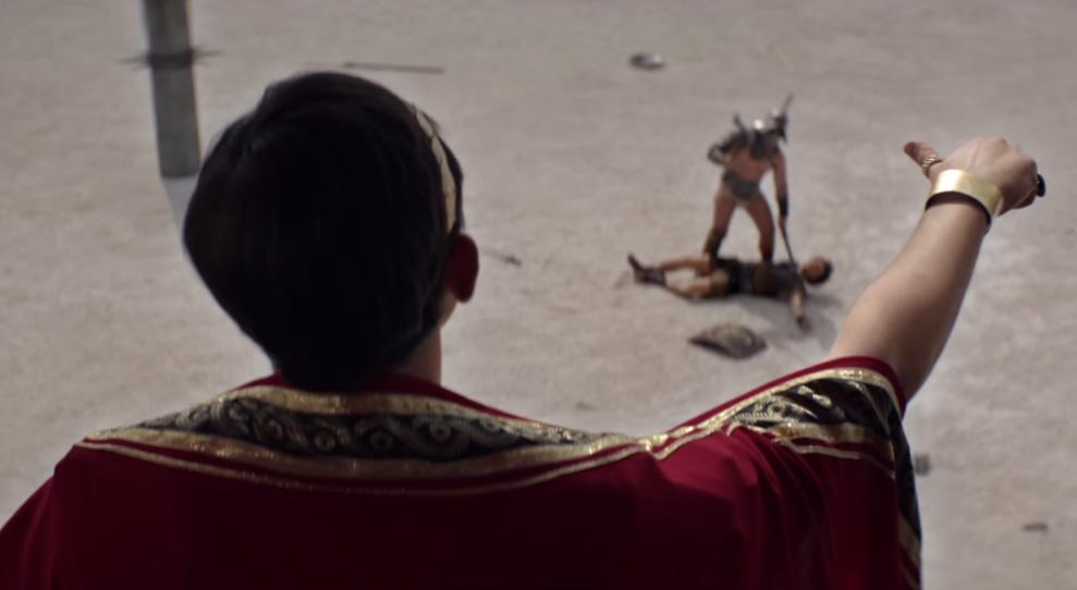 dans-ta-pub-orangina-shake-the-world-secouer-buver-gladiateur-betc-publicité