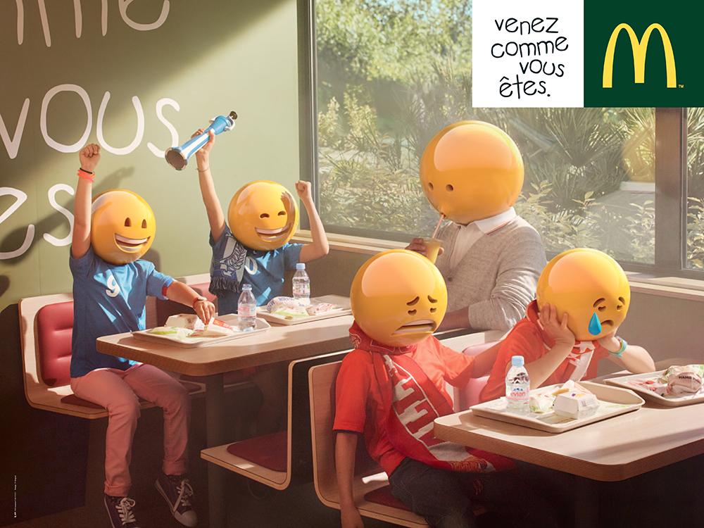 mcdonald u0026 39 s joue la carte des emojis pour sa nouvelle