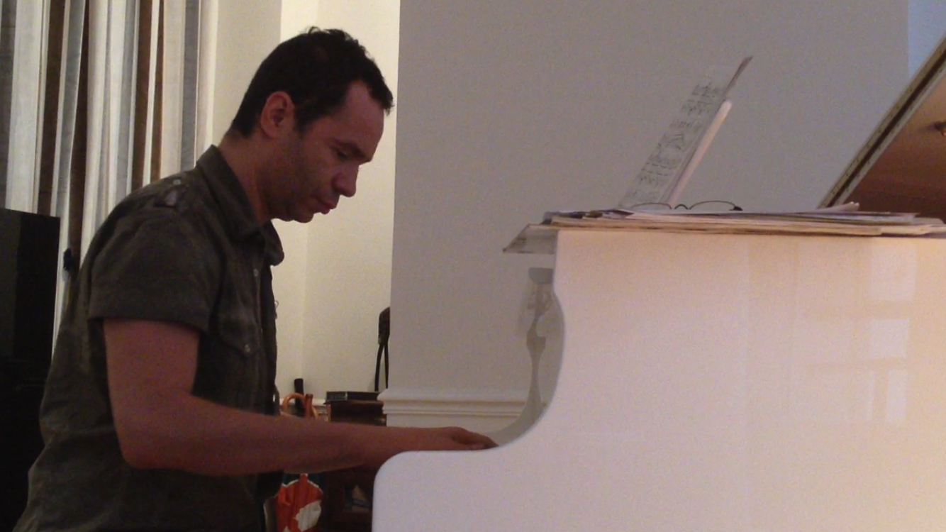 Elie de Rothschild Jr au piano
