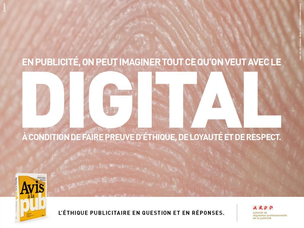 ARPP - Avis à la pub - Digital - Agence Josiane