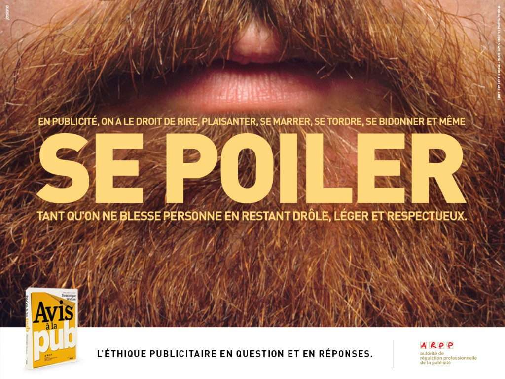 ARPP - Avis à la pub - Se poiler - Agence Josiane