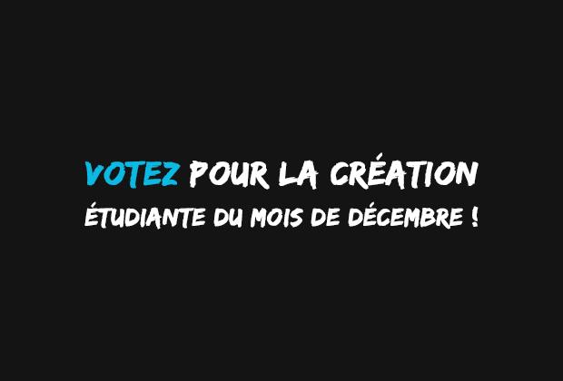 VOTEZ pour la création du mois de décembre