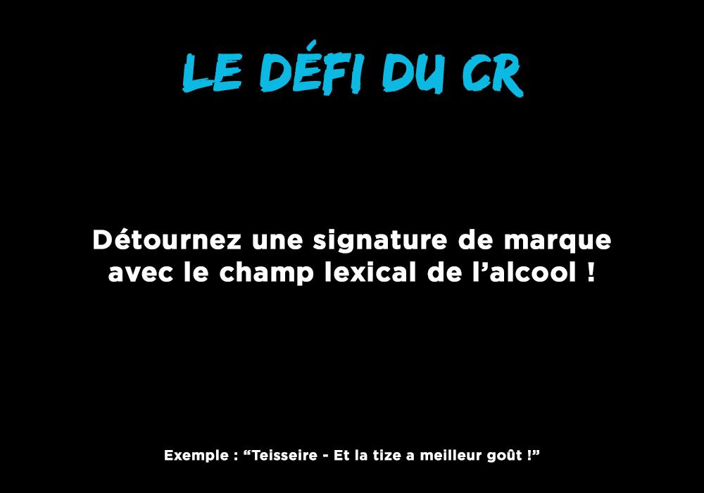 dtp défi CR