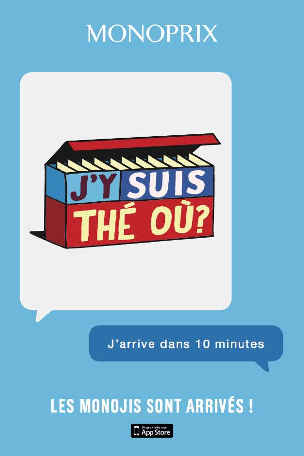 monoprix lance des emojis avec ses jeux de mots en packaging