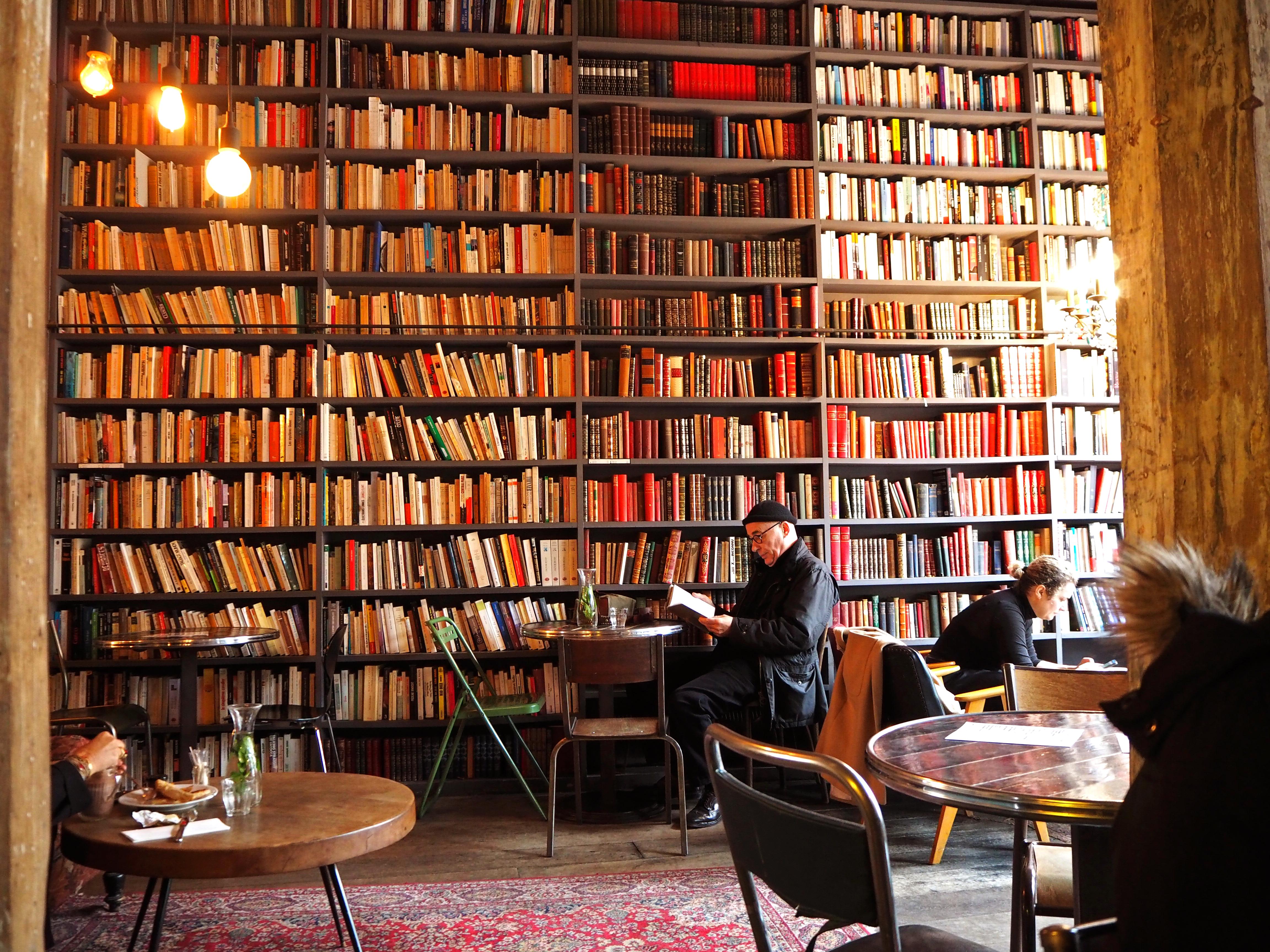 Used Book Caf Ef Bf Bd  Boulevard Beaumarchais Paris