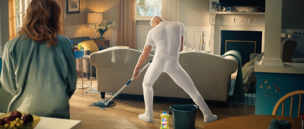 super bowl mr clean