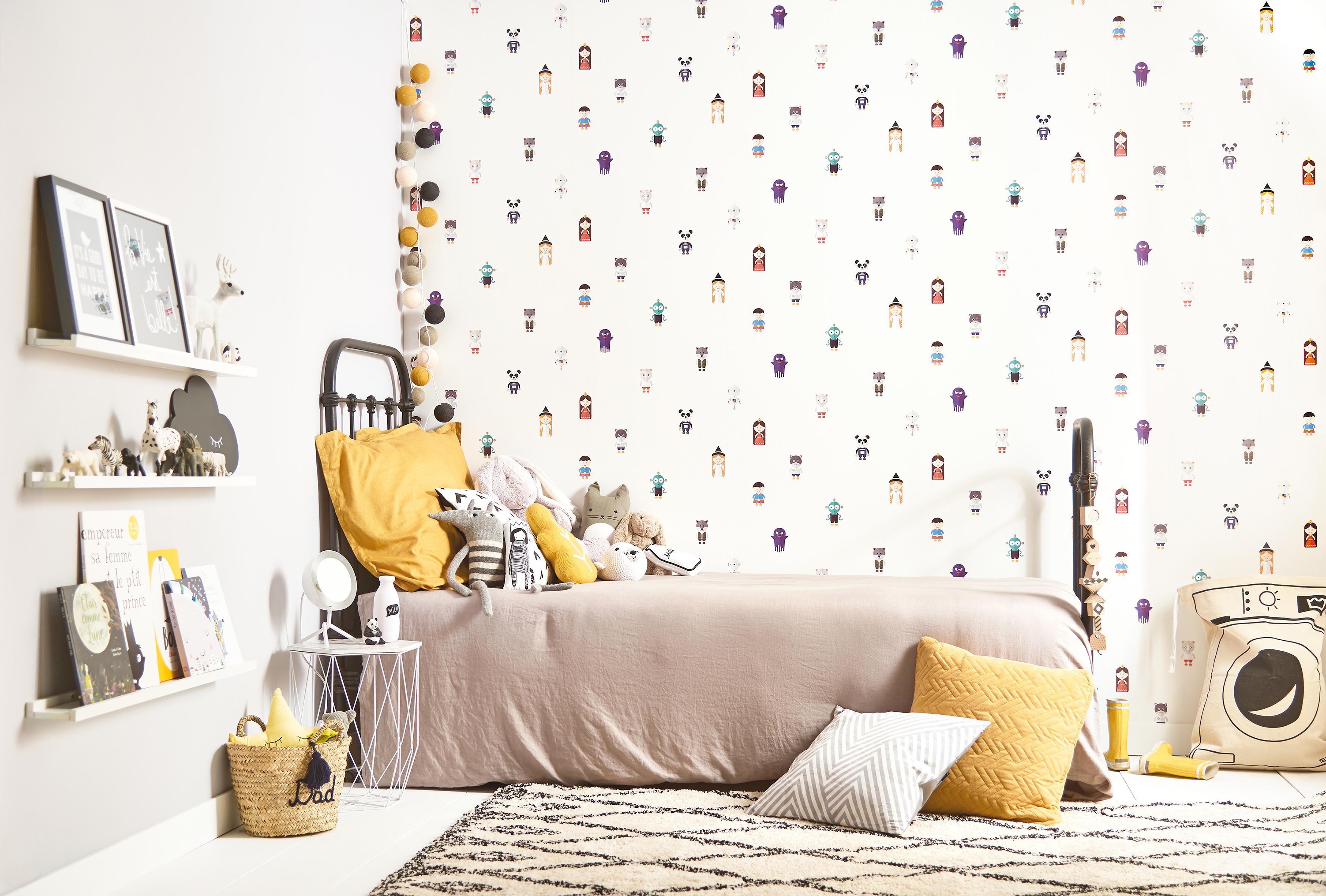 dans ta pub castorama tbwa paris papier peint histoire 2 dans ta pub. Black Bedroom Furniture Sets. Home Design Ideas