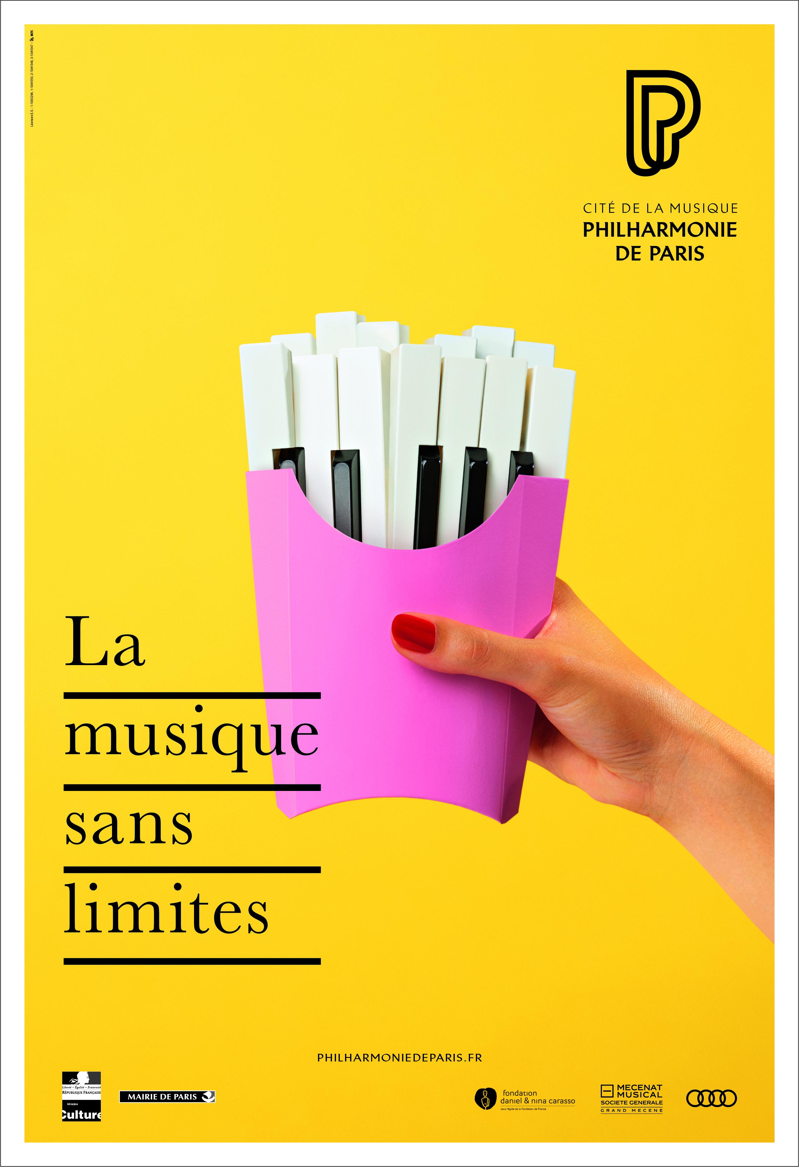 la philharmonie de paris et betc d u00e9voilent une campagne d u00e9vorante