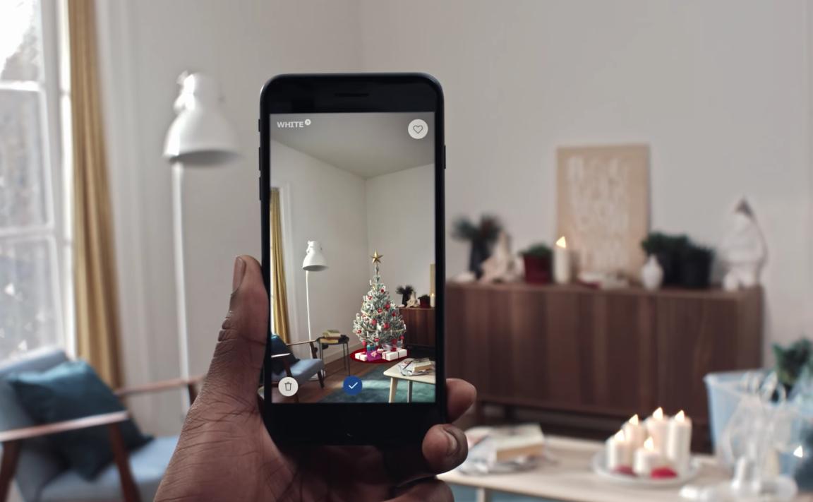 ikea cr e une application pour bien placer son sapin chez soi. Black Bedroom Furniture Sets. Home Design Ideas