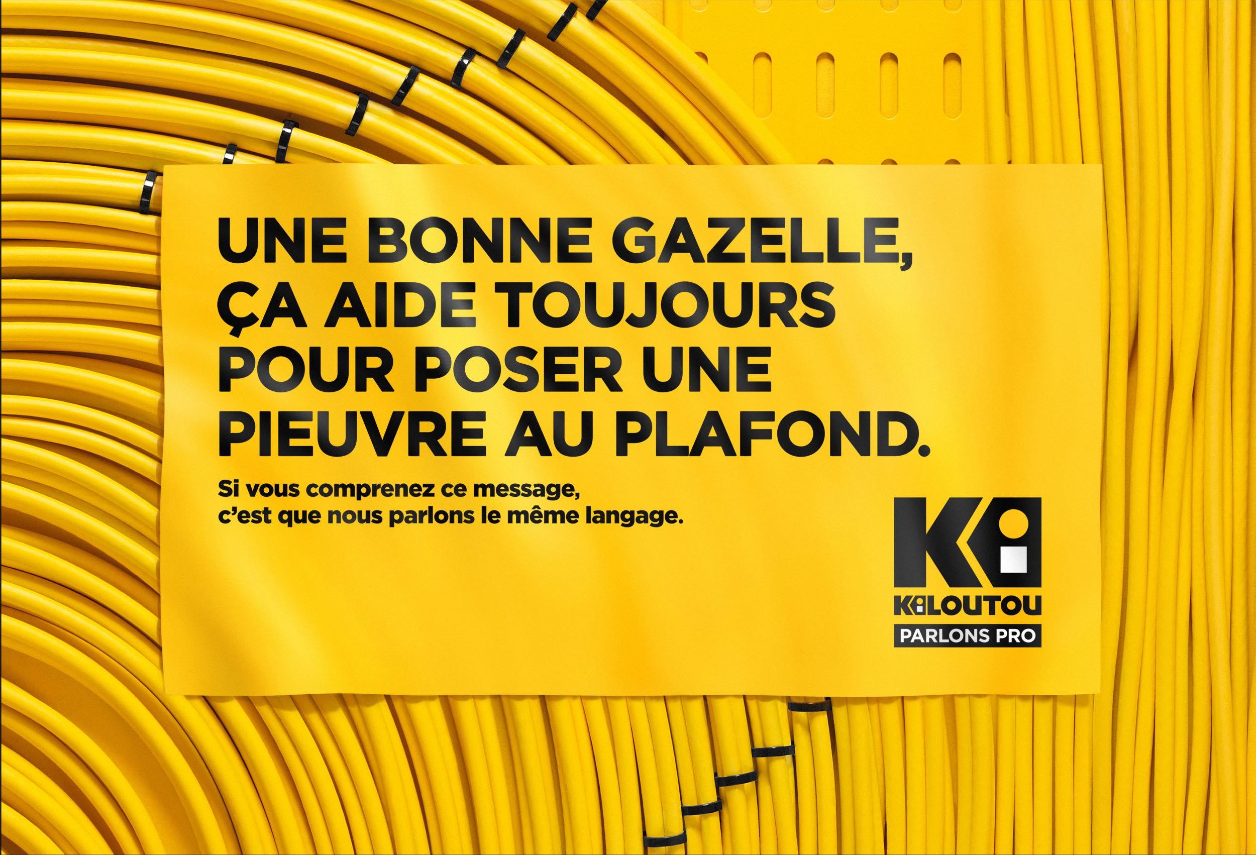 kiloutou lance la premi u00e8re campagne que personne ne comprend