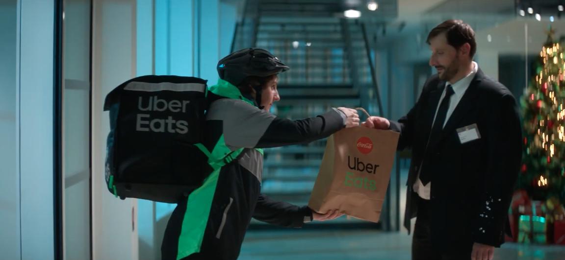 uber eats et coca