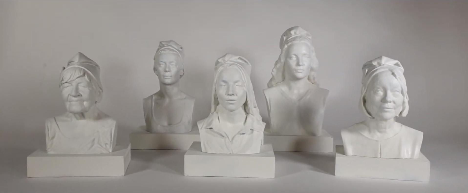 Marie Claire crée 5 Marianne différentes pour faire changer