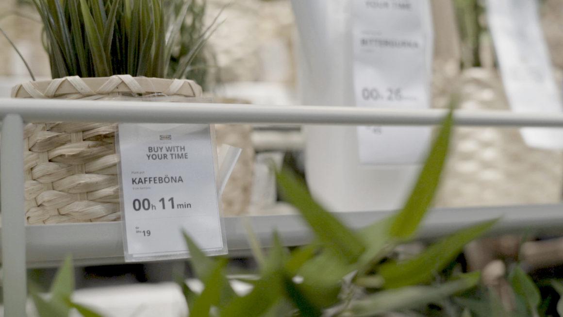 IKEA propose d'acheter ses meubles avec le temps que vous