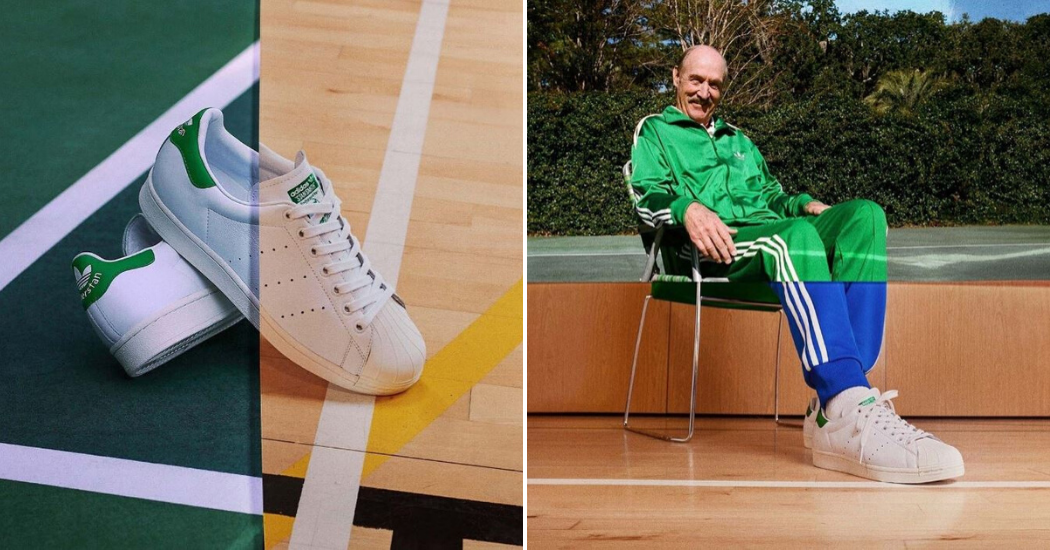 Adidas fait le parallèle entre le tennisman et la chaussure
